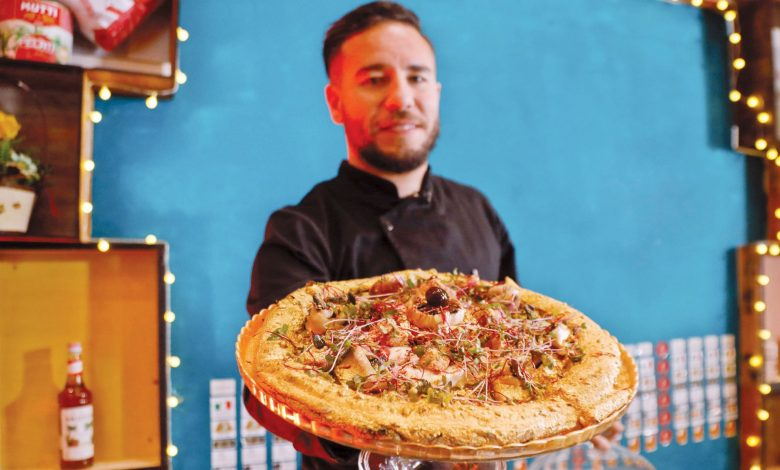 Tunisian restaurant makes africa's most expensive gold flakes pizza