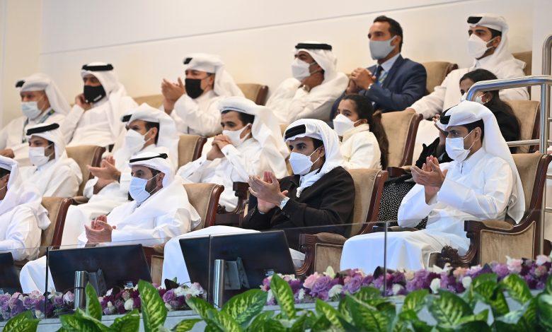Amir Attends Final of Qatar ExxonMobil Open