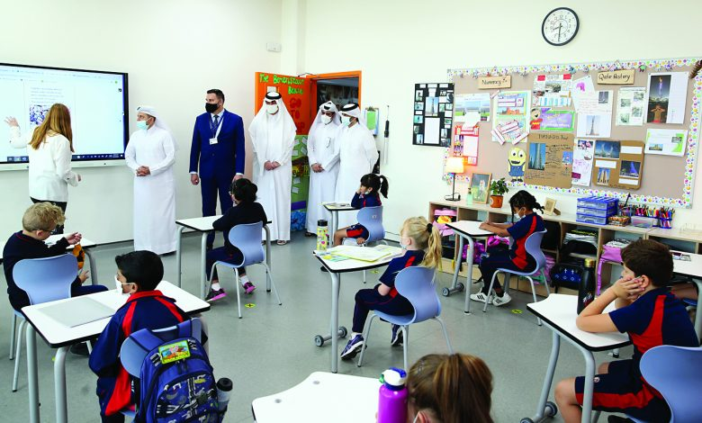 Minister of Education Checks on Precautionary Measures in Private Schools