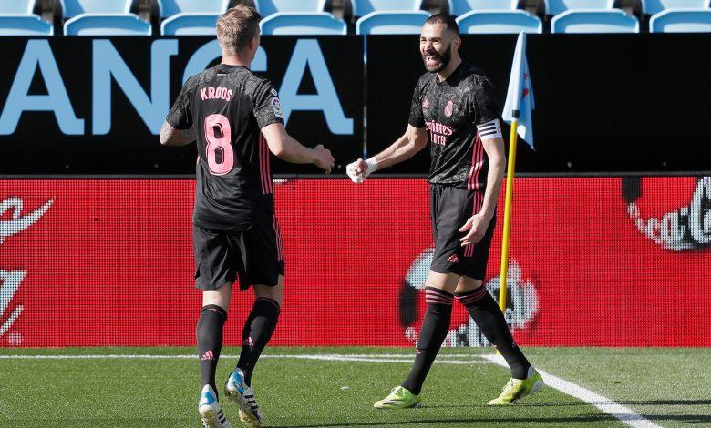 Real Madrid beat Celta Vigo to chase leaders Atletico