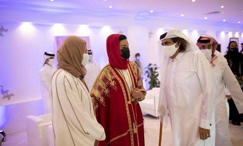 Father Amir, Sheikha Moza Attend Longines Global Champions Tour Final