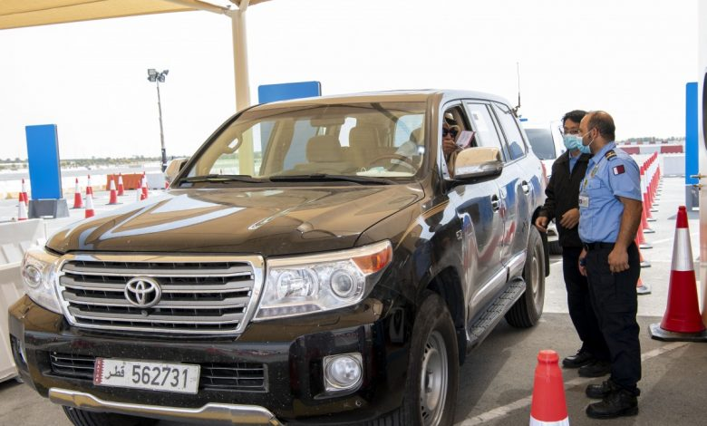 Second COVID-19 Drive-Through Vaccination Center Opens in Al Wakra