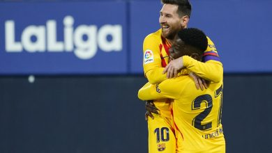 La Liga: Barcelona beat Osasuna 2-0