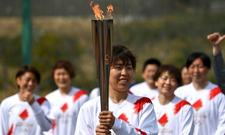 Olympic torch march kicks off from Fukushima