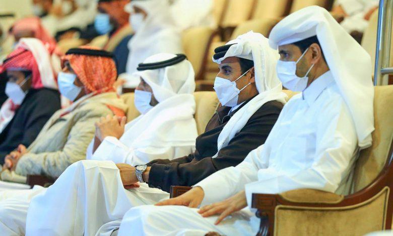 Amir Attends Final of Qatar Total Open