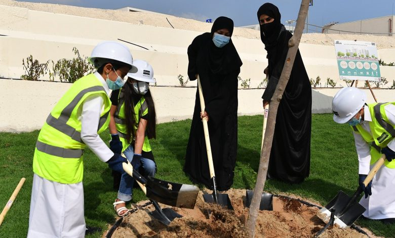 SC Participates in 'Qatar Beautification and our Kids Planting Trees' Campaign