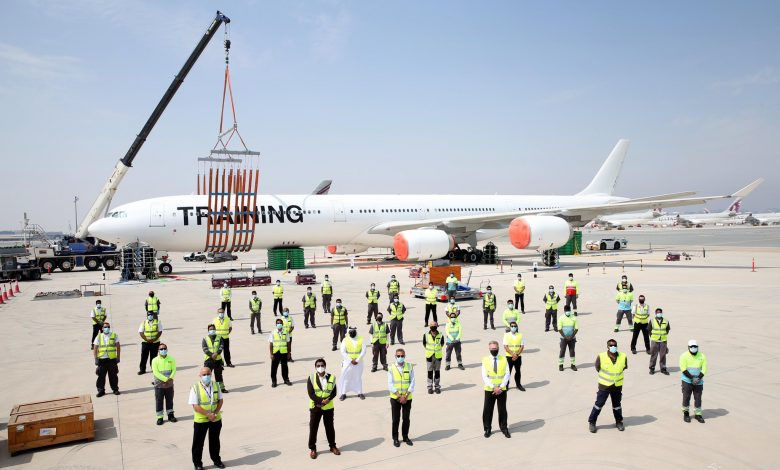 QA Conducts Disabled Aircraft Recovery Exercise