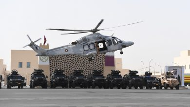 The Amiri Guard Concludes Barzan Joint Exercise (8)
