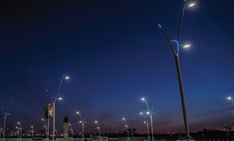 Ashghal: LED lighting Poles to be Used on Qatar's Roads Network