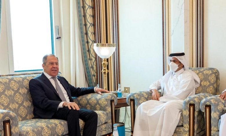 Foreign Minister Meets Russian Counterpart