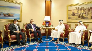 Foreign Minister Meets Turkish Counterpart