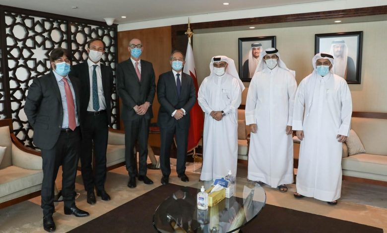 Minister Meets Representatives of French Bank Societe Generale