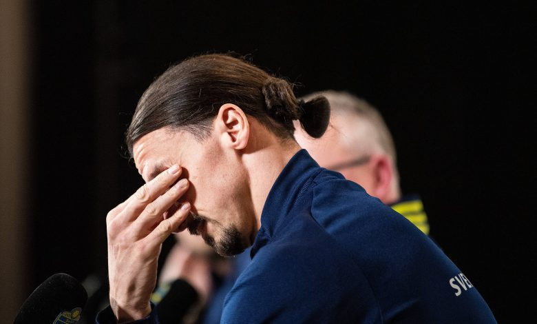 Sweden return hard for my family, says tearful Ibrahimovic