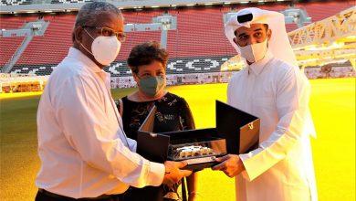 Seychelles President Visits Al Bayt Stadium