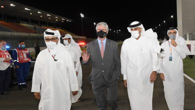 Prime Minister Attends Closing of Qatar MotoGP