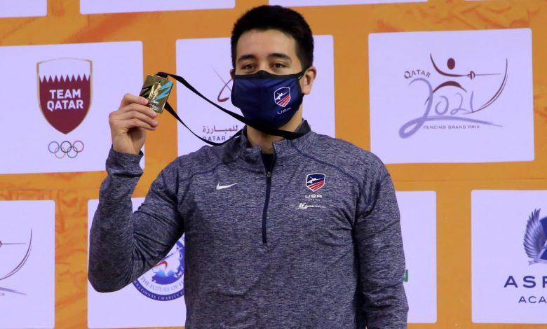 Meinhardt Win Foil Title at Fencing Grand Prix of Qatar