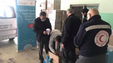 QRCS Supports PRCS COVID-19 Control Efforts in West Bank