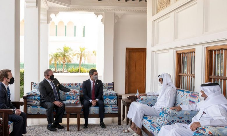 Amir Meets Delegation of US Cities' Mayors