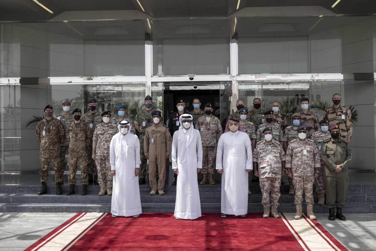 Amir Visits National Security Shield Center