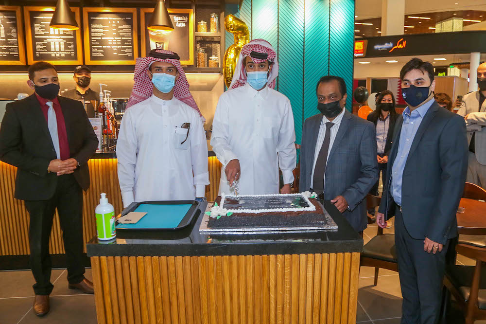 Al Majed Group Open 5th shop of Bo'S Coffee at Mall of Qatar