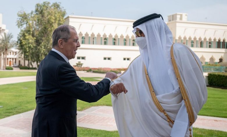 Amir Meets Russian Foreign Minister