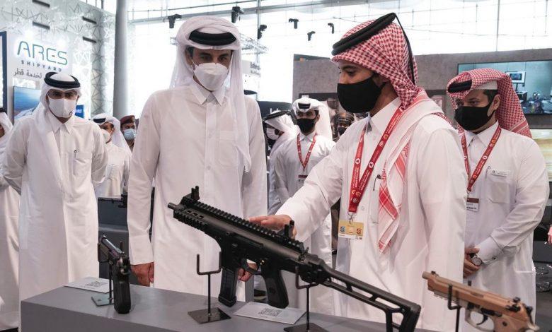 Amir Visits Milipol Qatar 2021