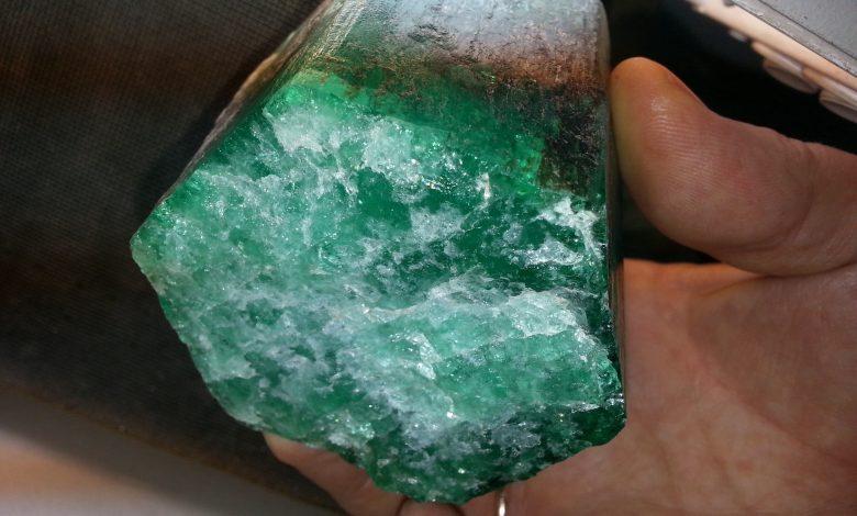 Unique emerald found in Russia