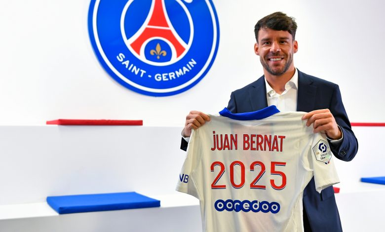 Bernat Set to Stay with PSG to 2025