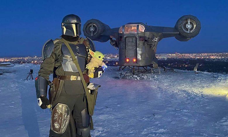 Star Wars Fans Build 'Mandalorian' Spaceship