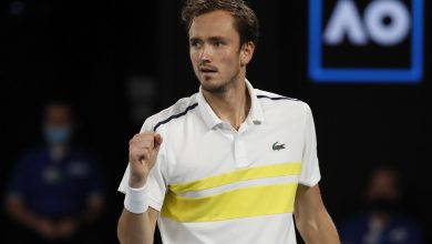 Russian Daniil Medvedev Takes Second Spot on World Tennis Ranking