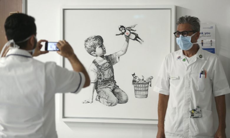 Banksy painting sells for £16,8 million