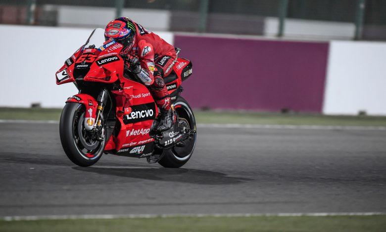 MotoGP: Bagnaia Sets Losail Lap Record