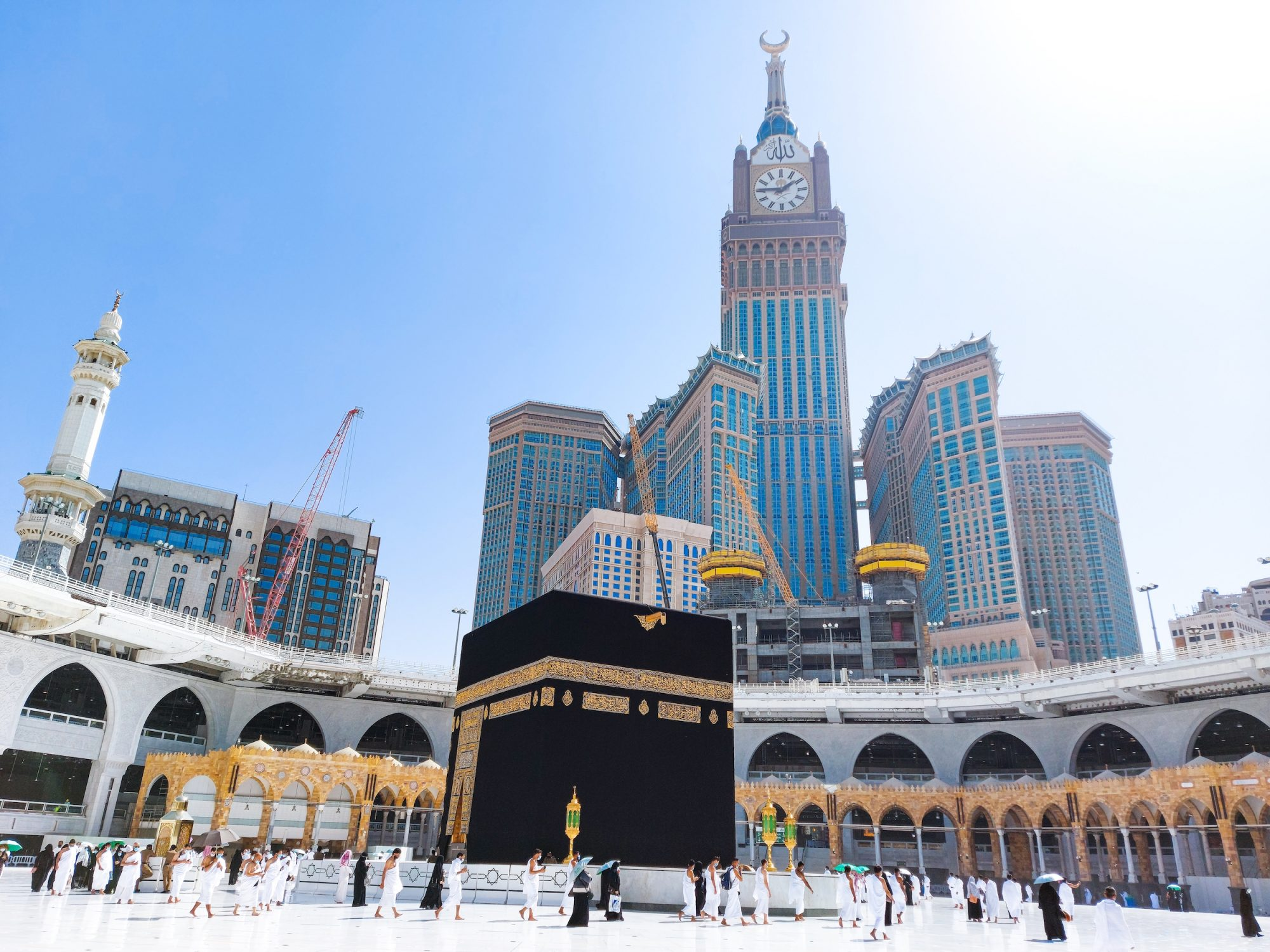 Saudi Arabia: Circumambulation space allocated only to Umrah performers