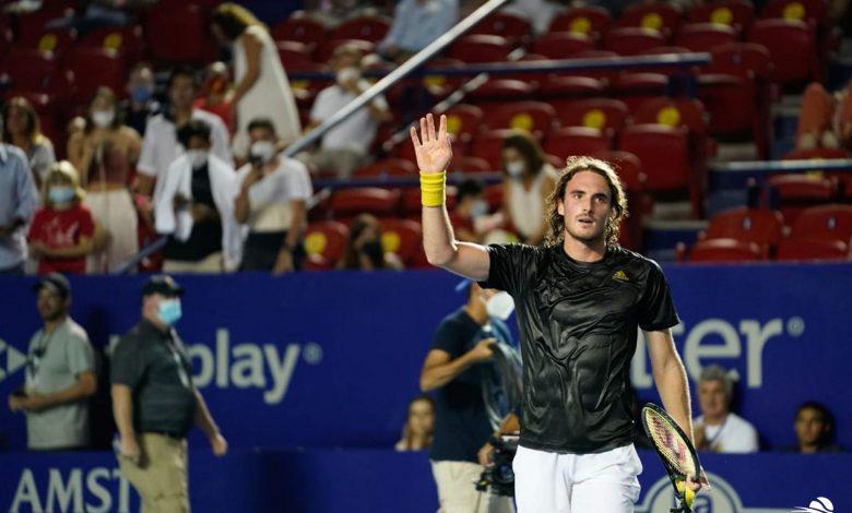 Acapulco ATP tour: Stefanos Tsitsipas off to the Second Round