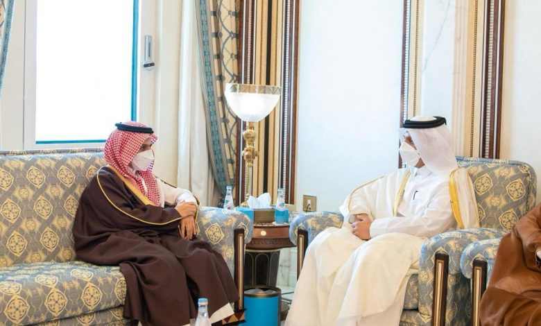 Minister of Foreign Affairs Meets Saudi Counterpart