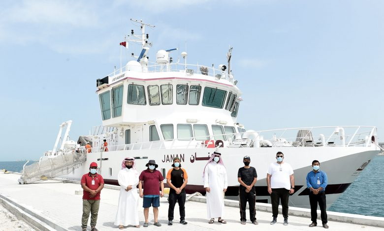 Janan Research Vessel Begins Trip to Study Marine Environment