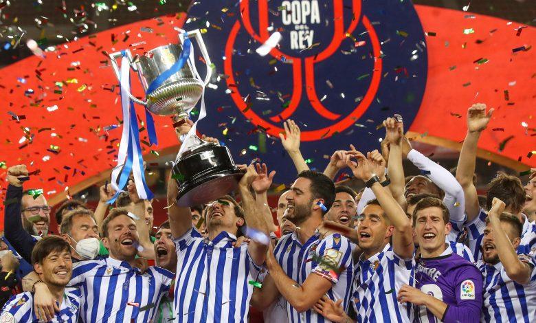 Real Sociedad Champions of Copa Del Rey