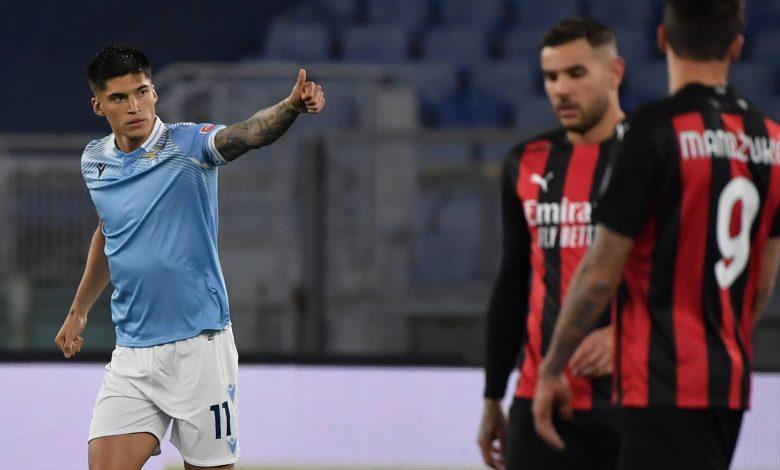 Serie A: Lazio beat Milan 3-0
