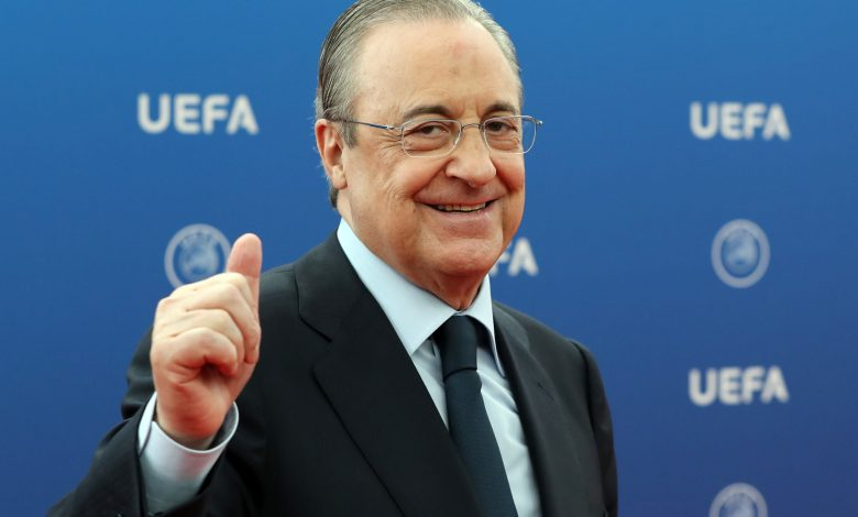 Super League project 'on stand-by', says Florentino Perez