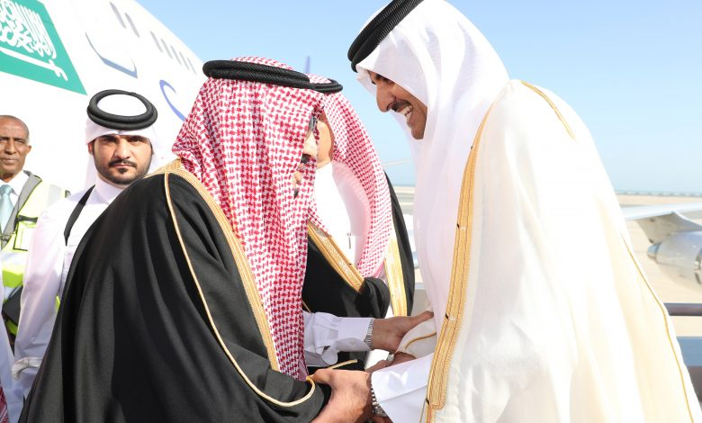 Custodian of Two Holy Mosques invites HH the Amir to visit the KSA