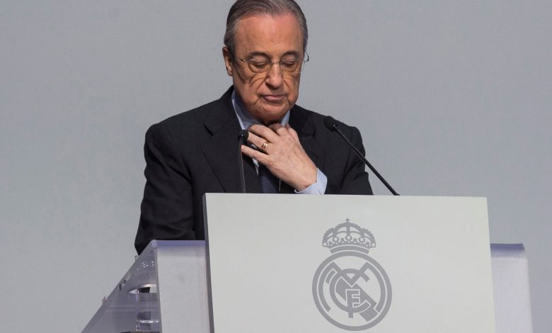 Florentino Perez Named President of Real Madrid Until 2025