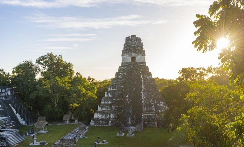 Hidden 'embassy' of legendary Mayan city is FOUND!