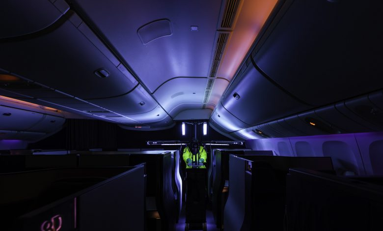 QA introduces latest ultraviolet technology for cabin disinfection