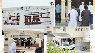 Stampede and crowding in front of some mosques during the first Friday prayer in Ramadan