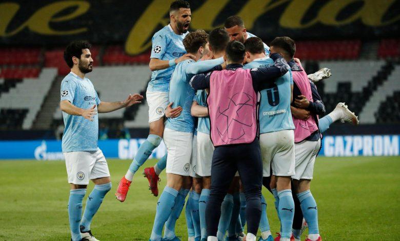 Champions League: Manchester City defeats PSG 2-1