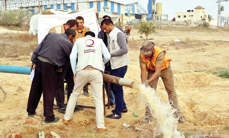 QC provides safe drinking water in Palestine