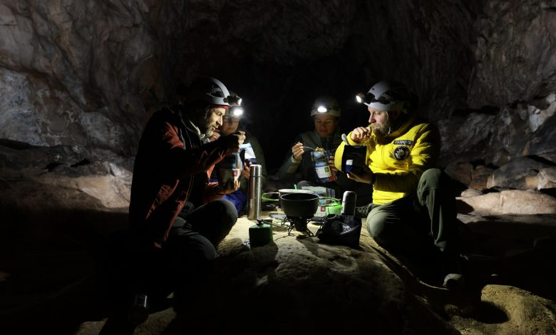 Out of the cave: French isolation study ends after 40 days