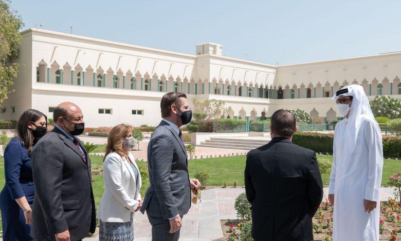 Amir Meets US Congress Delegation