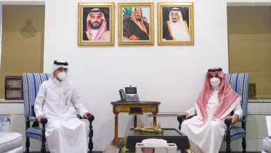 Undersecretary of Saudi Foreign Ministry Meets Qatari Acting Charge d'Affaires