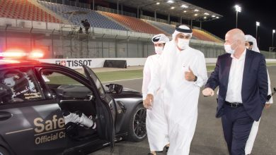 Prime Minister Attends Closing of Doha Motorcycle Grand Prix